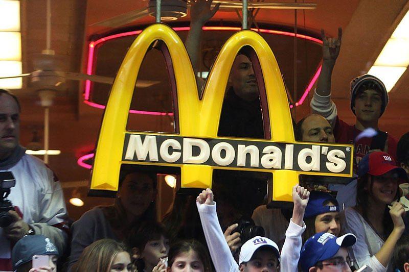 """Pernai biudžetą sočiausiai maitino """"McDonald's"""""""