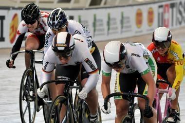 Lietuvėms - planetos dviračių treko taurės persekiojimo lenktynių bronza