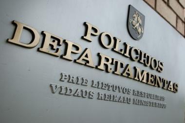 Policijos departamente – dvi naujos parodos