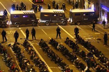 Kopenhagos policija sulaikė apie 1000 riaušininkų