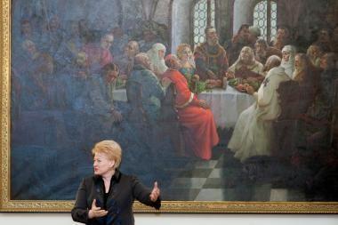Seimo vadovė ir premjeras pasveikino Prezidentę su gimtadieniu (papildyta 15.20 val.)
