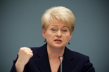 D.Grybauskaitė apie K.Prunskienės partiją: džiaugiuosi, kad atvirai deklaruojama, su kuo turime reikalą