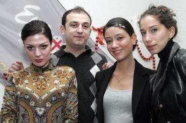 Iš Eurovizijos pašalinti Gruzijos atstovai vieši Vilniuje