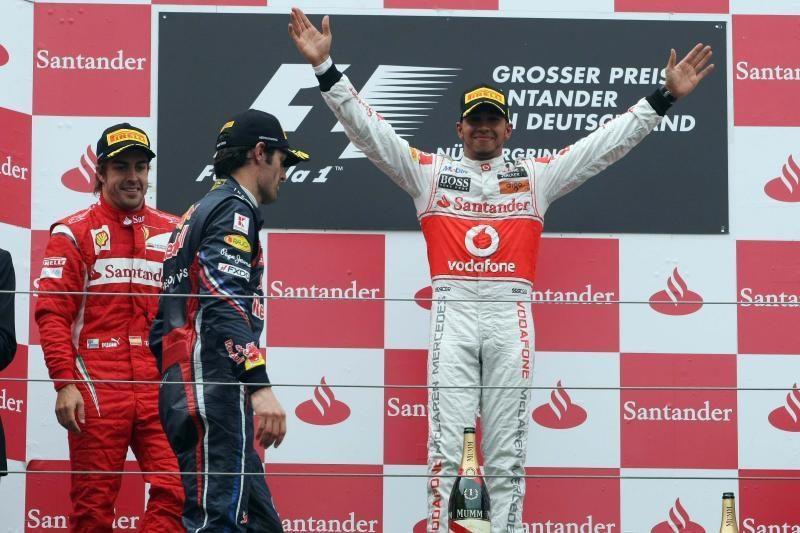 """""""Formulės 1"""" lenktynių etapą P.Korėjoje pradės Lewisas Hamiltonas"""