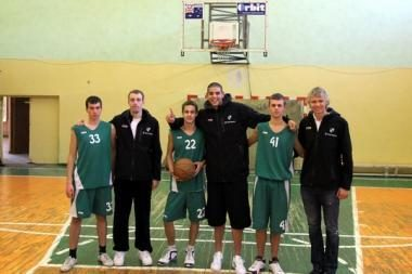Žalgiriečiai svečiavosi Kauno moksleivių krepšinio turnyre