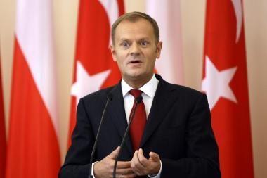 Lenkijos premjeras D.Tuskas į Vilnių taip pat neatvyks