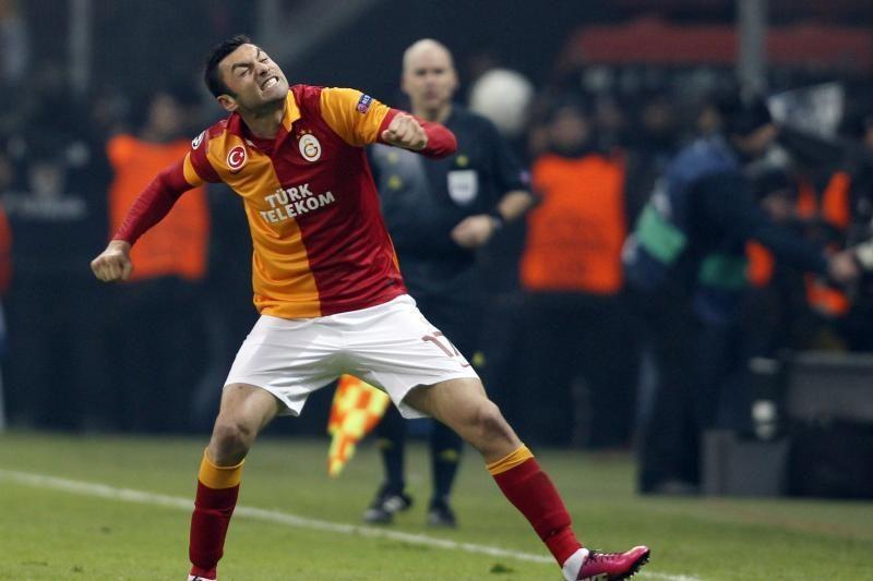 """""""Galatasaray"""" treneris: esu įsitikinęs, kad laimėsime prieš """"Schalke"""""""