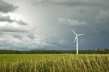 Padidinta vėjo elektros supirkimo kaina turėtų paskatinti investicijas