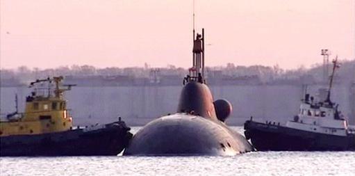 Rusija išnuomojo Indijai povandeninį atomlaivį