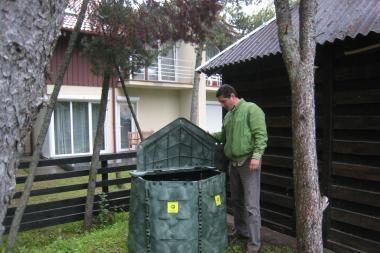 Pajūryje plinta kompostavimas