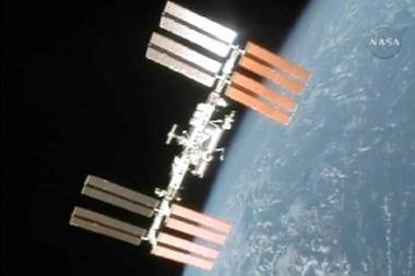 JAV astronautai Tarptautinėje kosmoso stotyje liko ir be tualeto, ir be deguonies