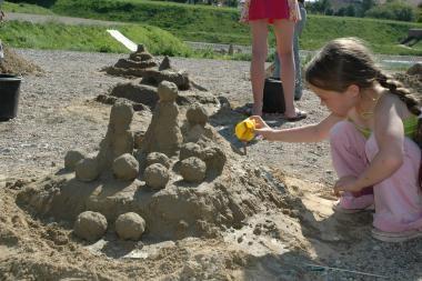 Kaune rengiamas smėlio skulptūrų festivalis