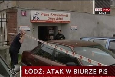 J.Kaczynskio partijos būstinėje - skerdynės
