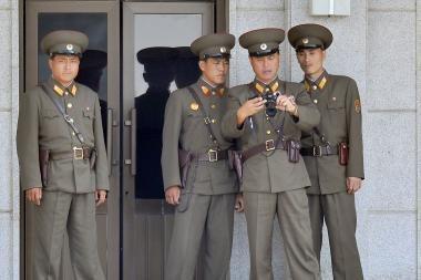 Šiaurės Korėją kamuoja maisto stygius