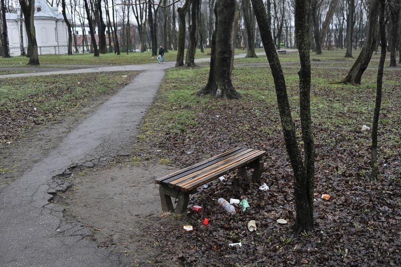 Klaipėdos parkelyje rastas negyvas vyras