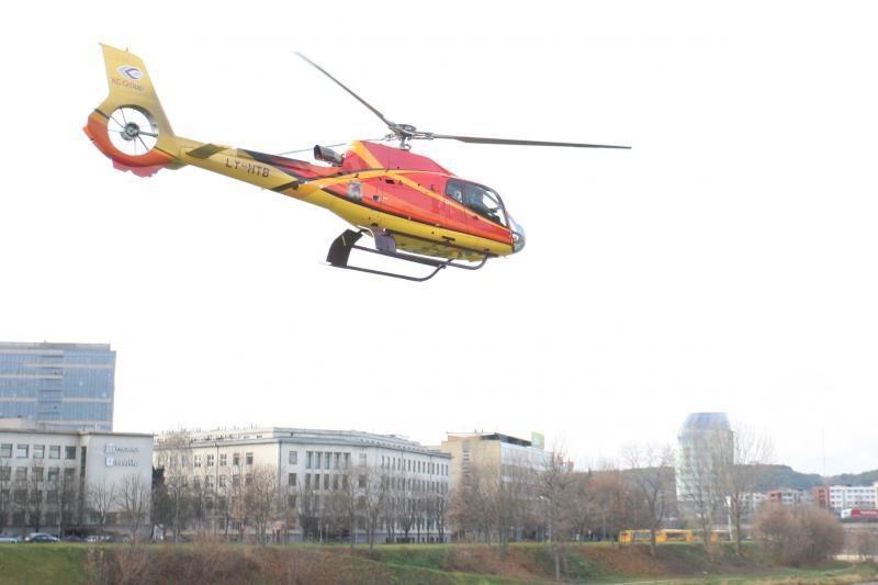 Vilniaus meras A.Zuokas svečius pakėlė į orą