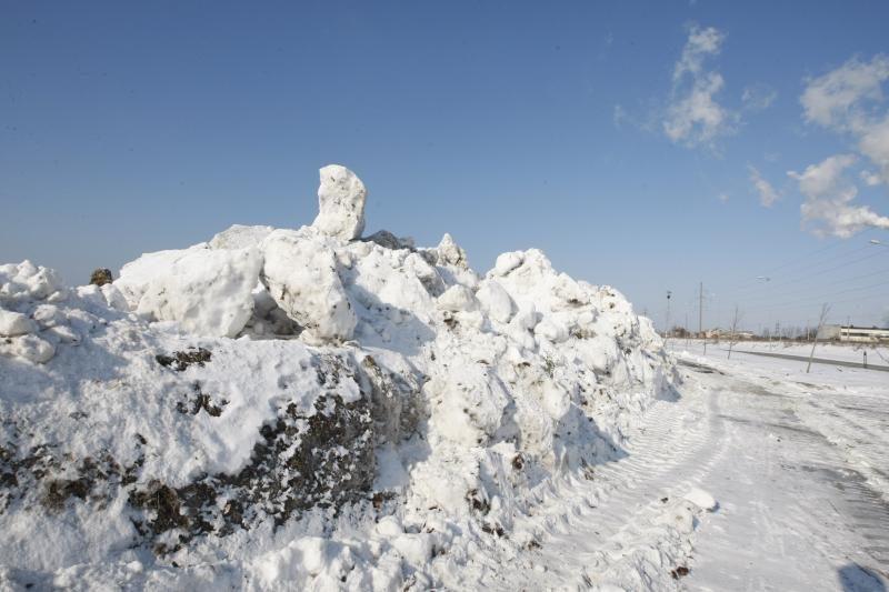 JAV centrinį regioną užklupo smarki žiemos audra