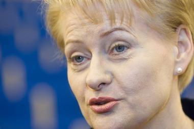 Pasaulio moterų lyderių dešimtuke - D.Grybauskaitė ketvirta