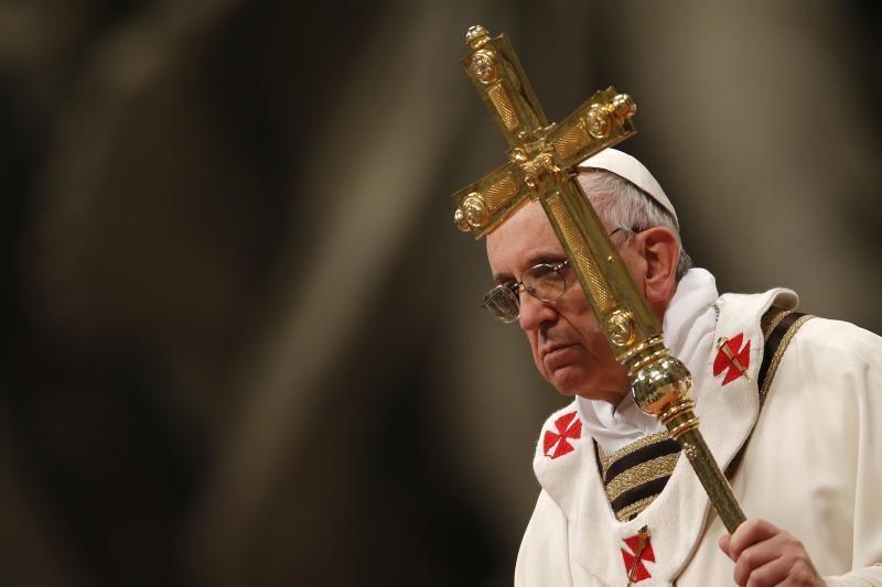 Popiežius Velykų iškilmėms uždės asmeninę žymę