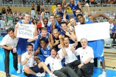 Europos jaunimo krepšinio čempionais tapo prancūzai