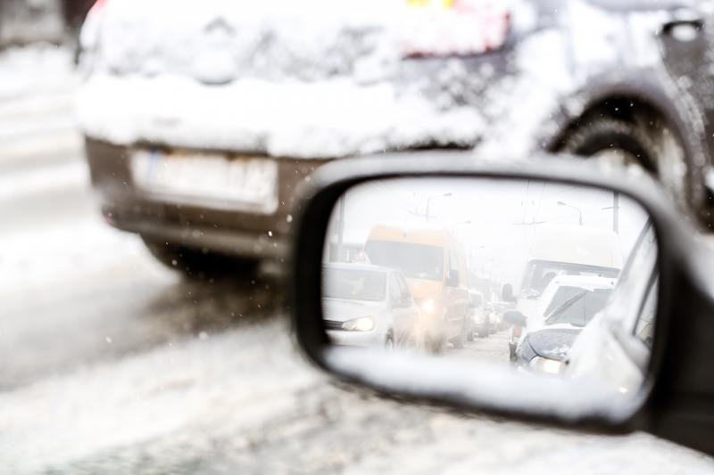 Su kokiomis problemomis šią žiemą jau susidūrė vairuotojai?