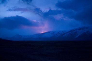 Islandijoje išsiveržus ugnikalniui evakuota šimtai žmonių