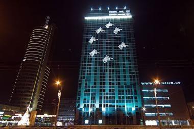 Prabangios valdžios bokšto Kalėdos