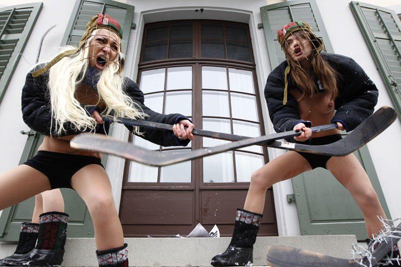 FEMEN štabas: Donecke pagrobė mūsų aktyvistes