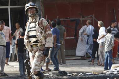 Bagdade du sprogimai pražudė dešimtis žmonių