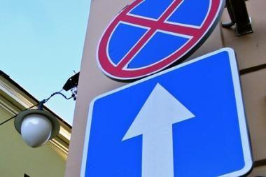 Siūlo Verkių gatvėje padaryti vienpusį eismą ir dviračių taką