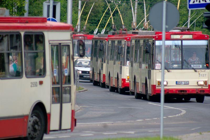 Vilniuje gali keistis viešojo transporto bilietų pardavimo tvarka