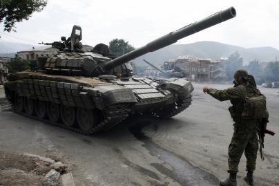 Abchazijoje prasidėjo puolimas