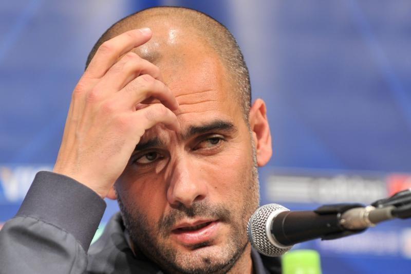"""P.Guardiola greičiausiai pasitrauks iš """"Barcelonos"""" trenerio posto"""