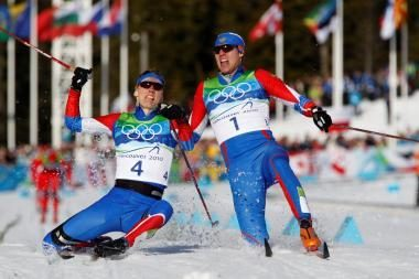 Slidinėjimo sprinto finale - rusų revanšas