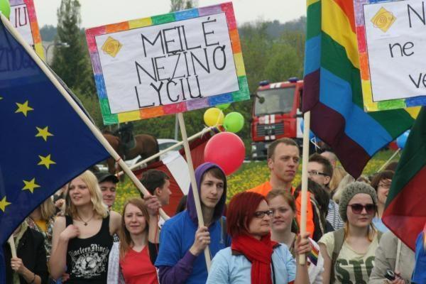 Teismas: Vilniaus valdžia ignoruoja seksualines mažumas