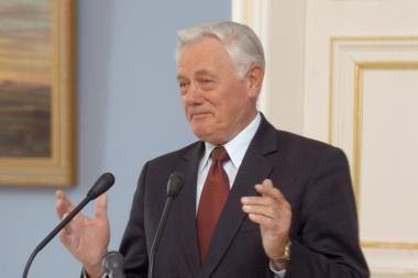 V.Adamkus priėmė Vyriausiojo Administracinio Teismo pirmininką