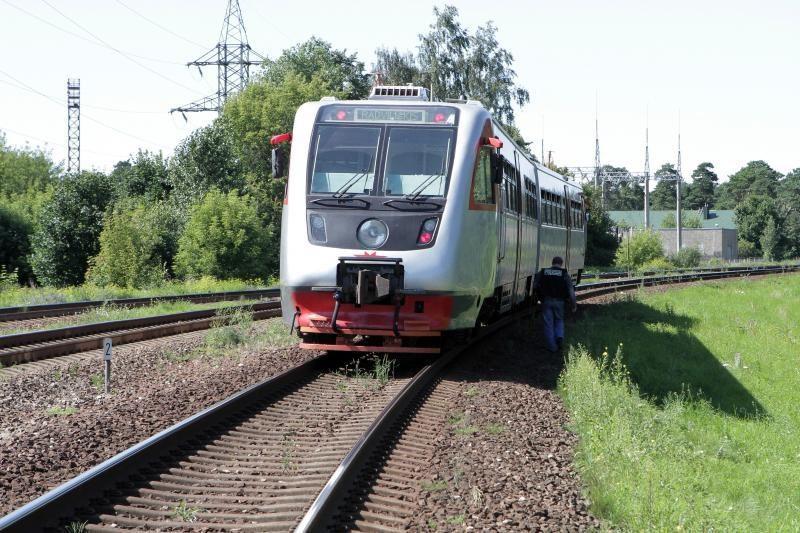 Kėdainiuose traukinys mirtinai sužalojo žmogų