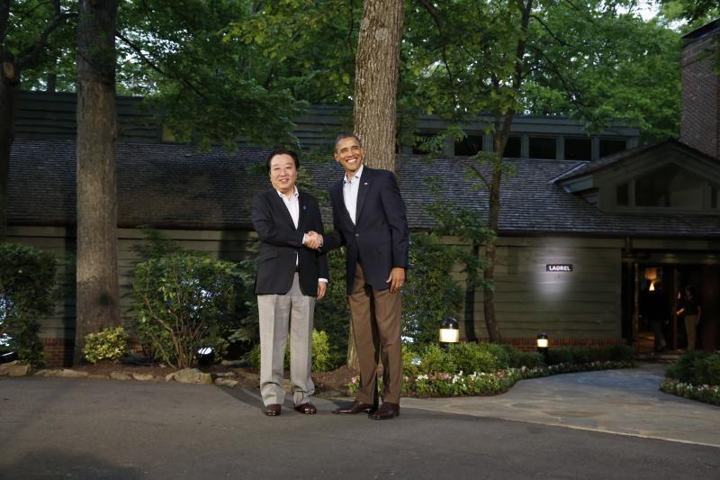B.Obama Didžiojo aštuoneto svečius apgyvendino Kemp Deivido nameliuose