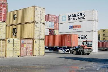 Pasiektas naujas per mėnesį perkrautų konteinerių rekordas