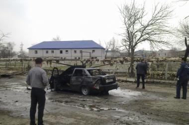 Rusijos Šiaurės Kaukazo respublikoje įvykdytas dvigubas išpuolis
