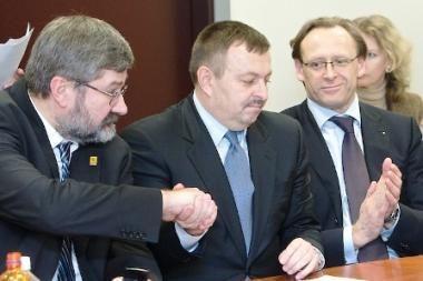 Konservatoriai koalicijos partneriams siūlys sostinės meru rinkti R.Alekną