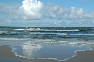Žygį baidarėmis per Baltijos jūrą teko nutraukti