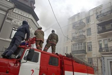 Rusijoje per gaisrą psichikos ligonių pensionate nukentėjo 11 žmonių