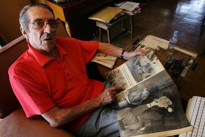 Mirė į istoriją patekęs F. Castro fotografas E. Menesesas