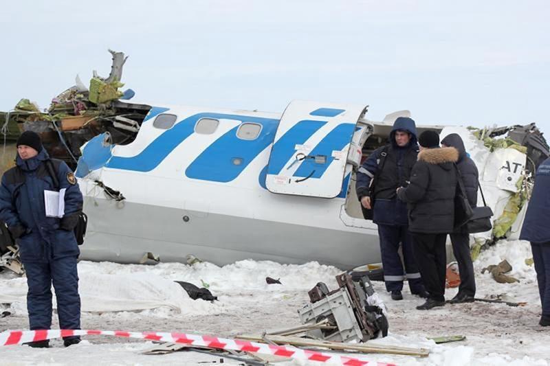 Sibire sudužus lėktuvui, žuvo 31 iš 43 jame buvusių žmonių (papildyta)