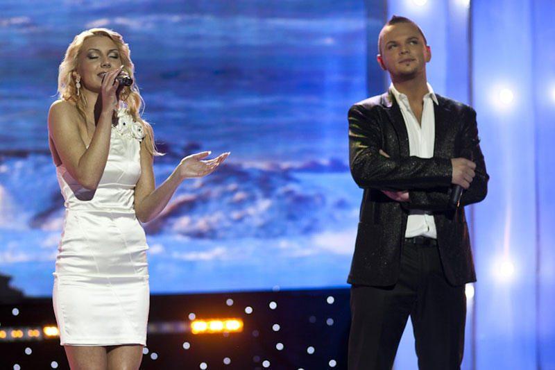 """""""Žvaigždžių duetai"""": R.Kirilkiną ir M.Kvietkutę persekioja nesėkmės"""