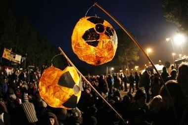 Vokiečiai nenori branduolinių atliekų savo šalies teritorijoje