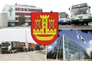 Klaipėdos savivaldybės įmones stebės tik valdantieji