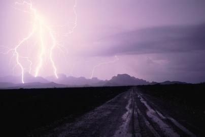 Dievo bausmė žaibu