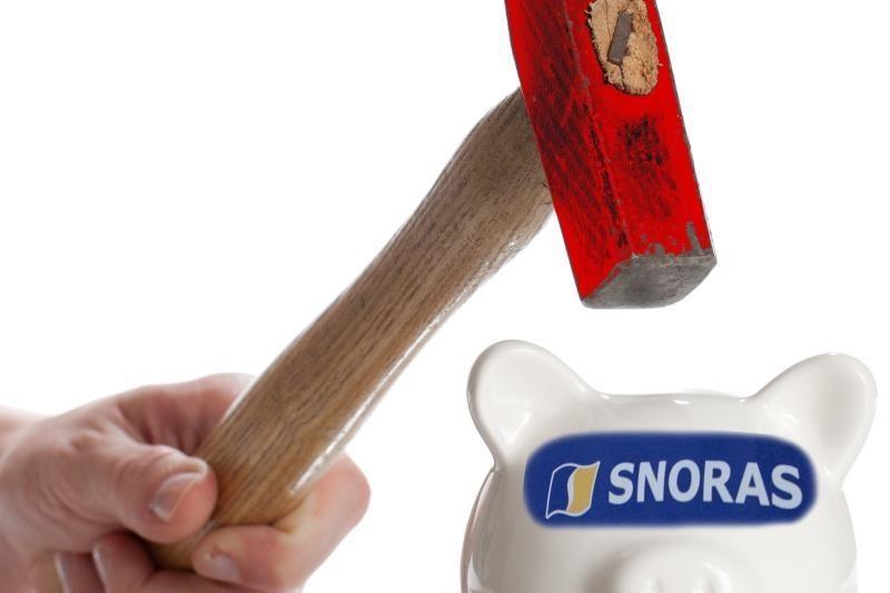 """""""Snoro"""" indėlininkų advokatai: pinigus laikyti saugiau užsienyje"""